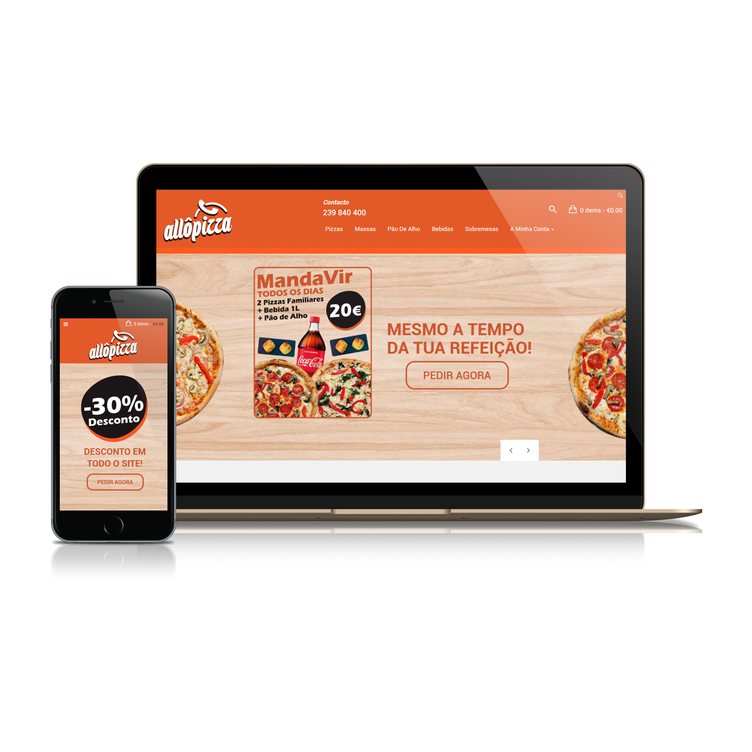 Website – Allô Pizza